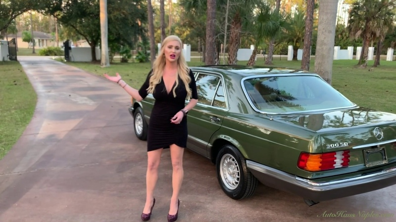 A 3 994 Mile W126 is the RAREST Find Yet 1982 Mercedes Benz 300SD Turbo Diesel