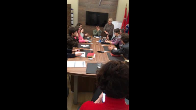 Тема встреча Зеленой коалиции Вопрос по ЮПп референдум и переговоры с церковниками