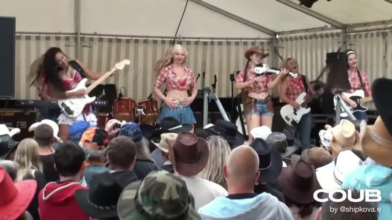 Metal cowboy party only hardrock