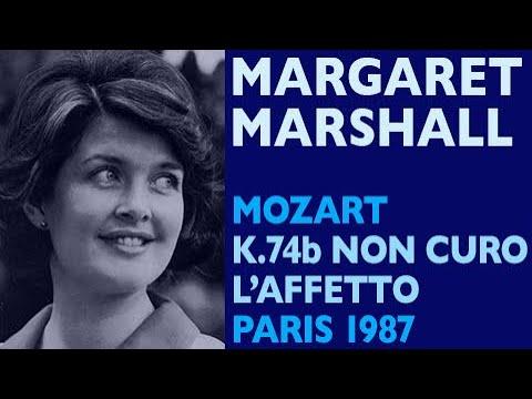 Margaret Marshall Mozart Concert aria K 74b Non curo l'affetto Paris 1987