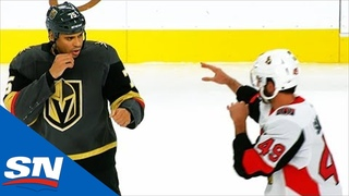 Ryan Reaves Patiently Waits And Then Fights Scott Sabourin