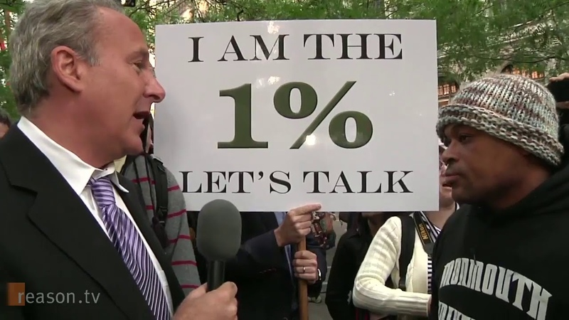 🔴 Peter Schiff at Occupy Wall Street I am the 1% Let's Talk
