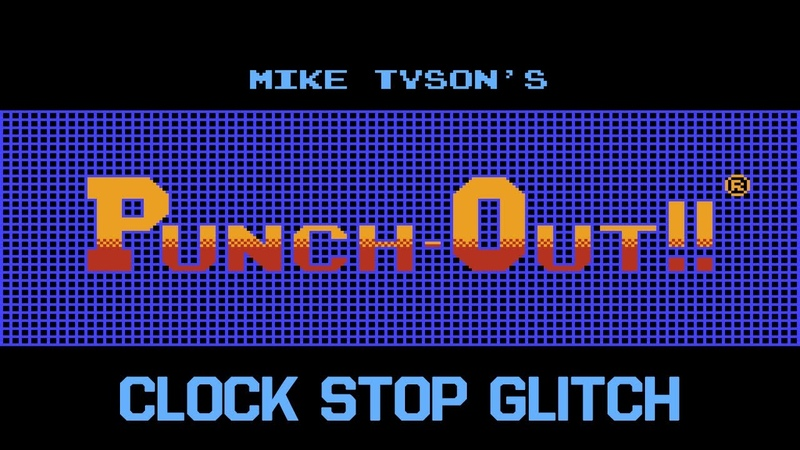 TAS Mike Tyson's Punch Out clock stop glitch by McHazard in 17 37 84