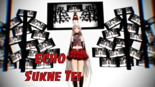 【MMD】ECHO /ft Sukone Tei 【100 FPS】