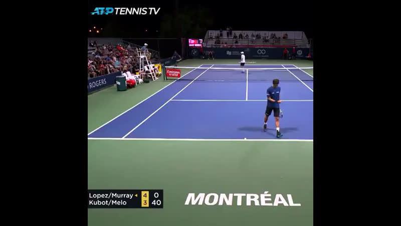Лопез забыл правила тенниса