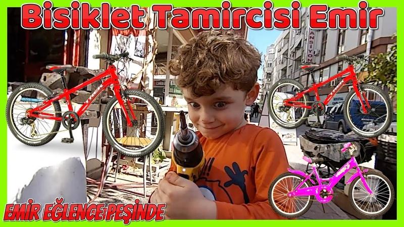 Emir Bisiklet Tamircisi Ferhat Amcasına Çırak Oldu Emir Eğlence Peşinde