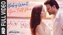 Full Video: Baby Won't You Tell Me | Saaho | Prabhas, Shraddha K | Shankar Ehsaan Loy