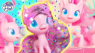 My Little Pony: Pony Life 💖 NEW 💖 Pinkie Pie Squared | MLP Pony Life | MLP Toys | Toys for Kids