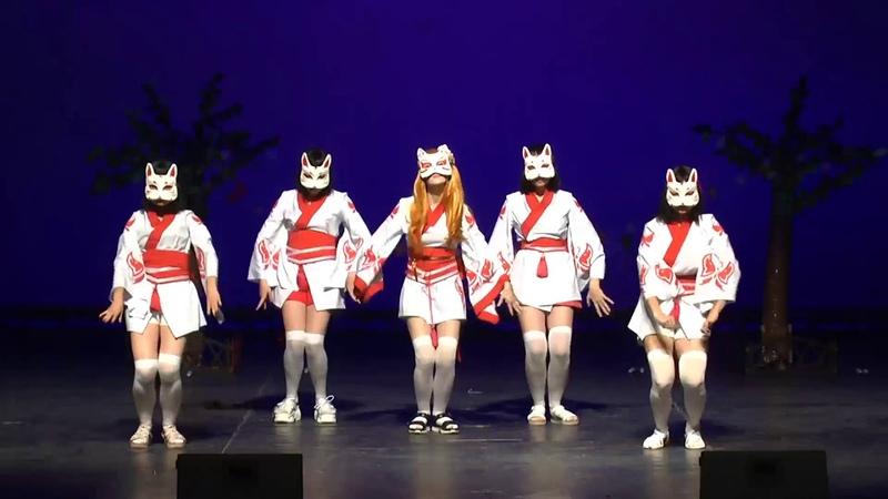 Tanibata 2019 Tanabata no ai танец команда Shinigami