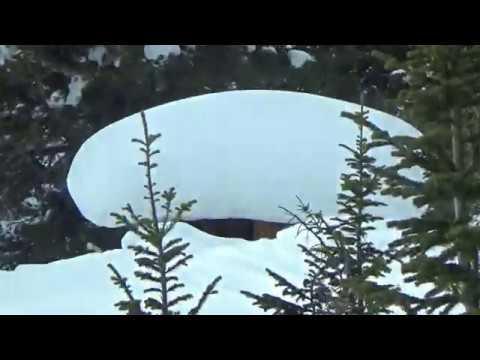 Зимняя рыбалка на таежных озерах Часть 2