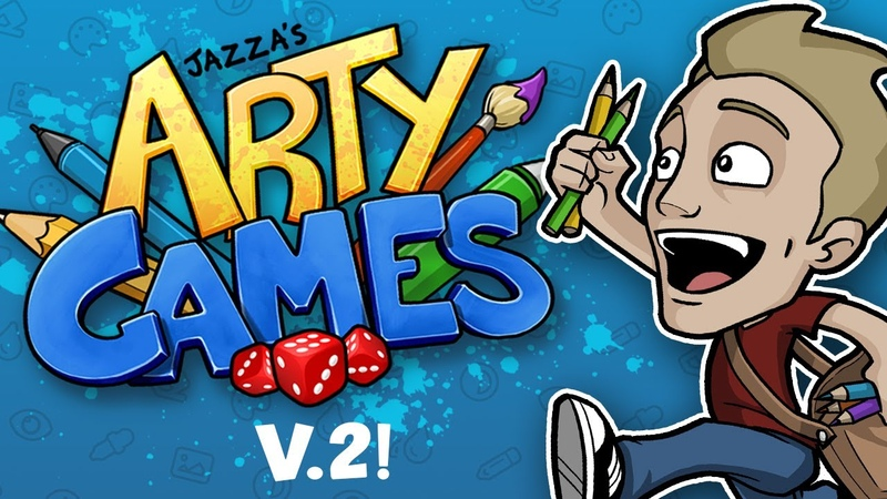 JAZZA'S ARTY GAMES V 2 ALL NEW