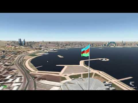 Go around IFR full flight UBBB Baku URSS Sochi Vatsim TUA7171 X Plane 11 Zibo 737 800