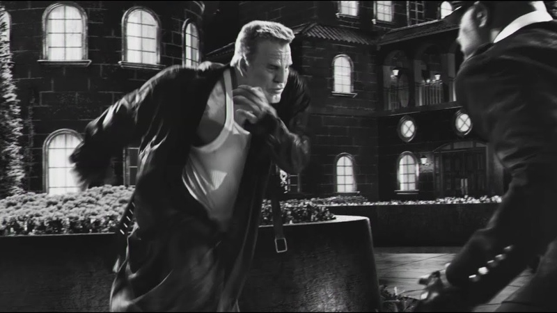 Marv Fight Scene SIN CITY 2 Movie Clip