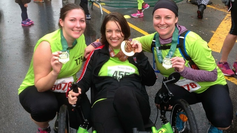 Andrea Lytle Peet '03 Living Bravely One Race at a Time