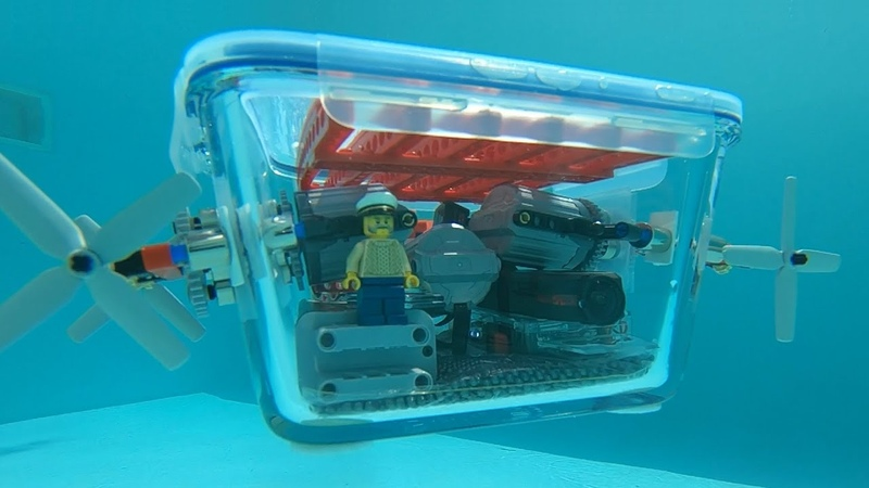 Building a Lego powered Submarine 2.0 magnetic couplings