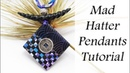 Polymer Clay Project: Mad Hatter Pendants Tutorial
