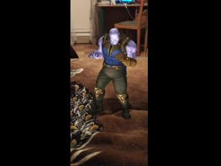 танос флексит под музыку и детского американского телешоу смотреть всем
