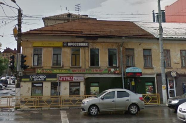 Дом на углу улиц Ленина и Воровского: до и после возможного введения дизайн-кода.