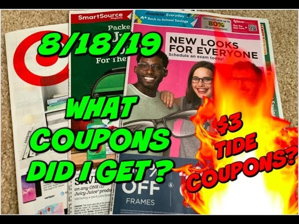 8 18 19 WHAT COUPONS DID I GET? TARGET AD PREVIEW