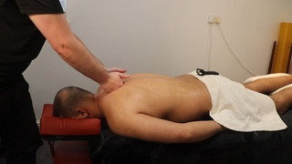 [ASMR] Deep Tissue Back Massage - Let Go Of Your Pain - YouTube