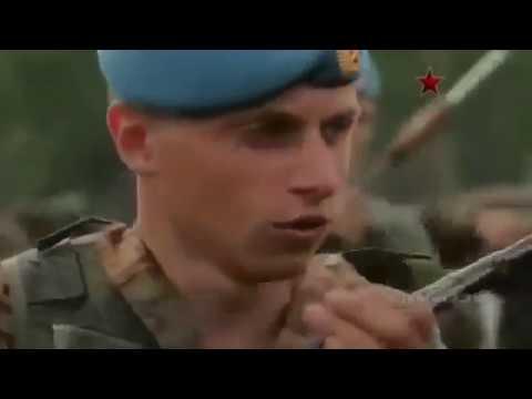 Показательные выступления ВДВ и морской пехоты России