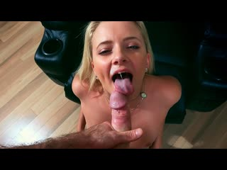 Riley star the perfect blonde (facial, cumshot, blowjob, indoors, pov, doggystyle, piercing, petite, blonde)