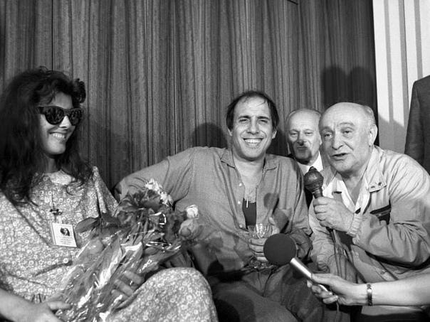 Адриано Челентано в Москве, 1987 год... Вам нравится этот актер