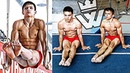 STRONG and Flexible Russian Gymnasts