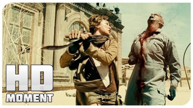 Битва с зомби в Вегасе Обитель зла 3 2007 Момент из фильма