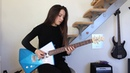 Deep Purple - Smoke on the water solo (Cover by Chloé)
