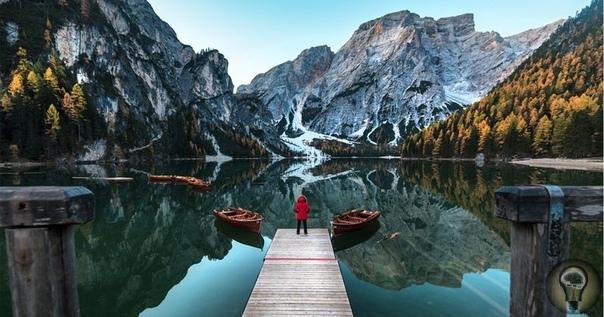 НЕЗАБЫВАЕМАЯ КРАСОТА ДОЛОМИТОВЫХ АЛЬП В ИТАЛИИ Анита Демианович знает толк в пейзажной фотографии, поэтому, глядя на ее работы, так и хочется отправиться в путешествие. На сей раз девушка
