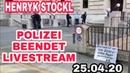 EILMELDUNG ⚠️HENRYK STÖCKL VON POLIZEI FESTGESETZT - POLIZEI BEENDET LIVESTREAM