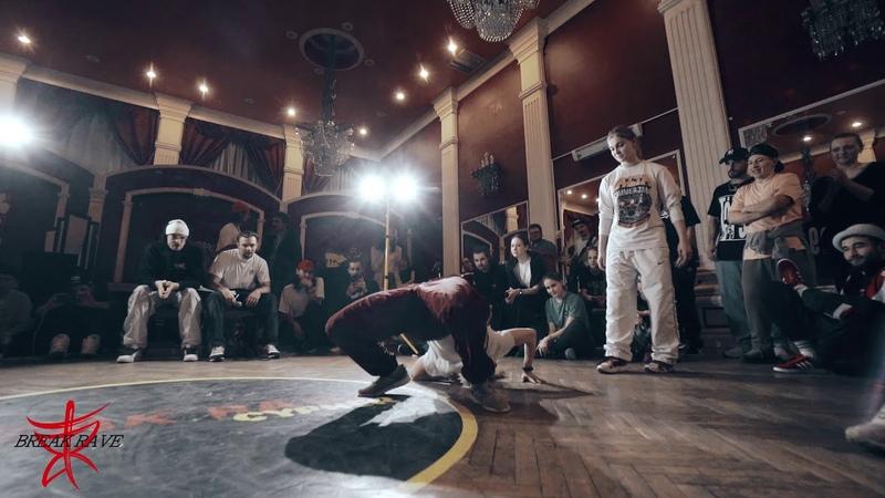Nastya BMT vs Lady Dee   12 BGirls BREAK RAVE CYPHER 2019