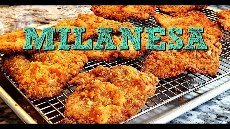 How To Make Crunchy Milanesa Breaded Thin Beef Cutlets Recipe 4K Cooking Videos