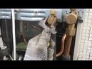 Демонтаж кондиционеров с автовышки