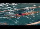 Упражнение на чувство воды Плывем ногами вперёд