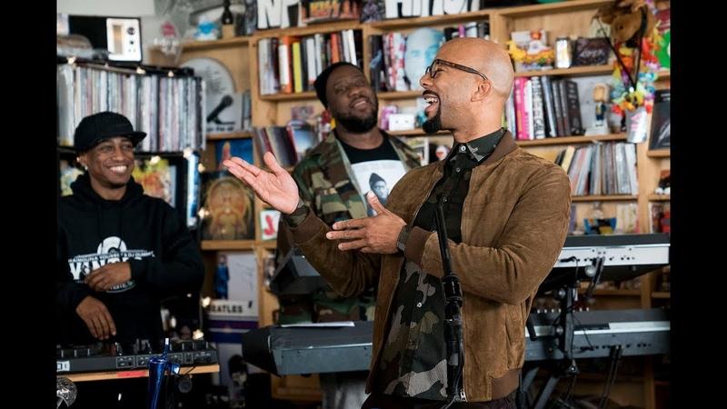 August Greene (Common, Robert Glasper, Karriem Riggins): NPR Music Tiny Desk Concert
