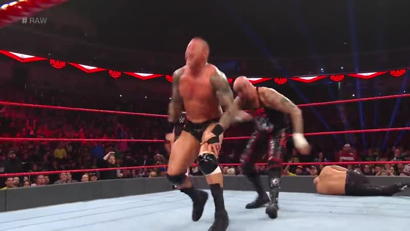 Randy Orton The Viking Raiders vs. The O.C. – Six-Man Tag Team Match- Raw, Dec. 23, 2019
