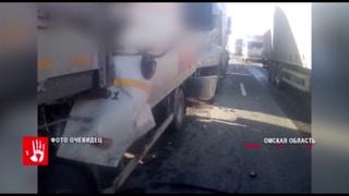 Жене водителя грузовика, который погиб на трассе под Омском, выплатили 300 тысяч рублей