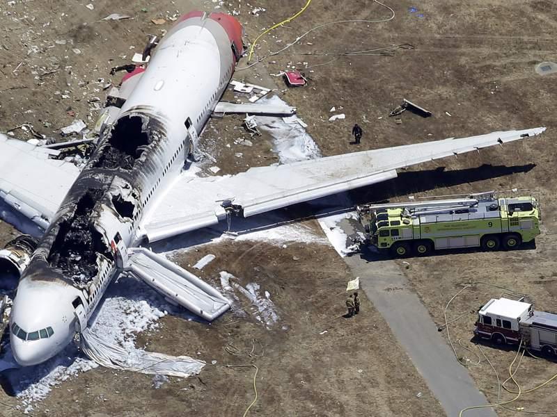 Самолеты потерпевшие крушение