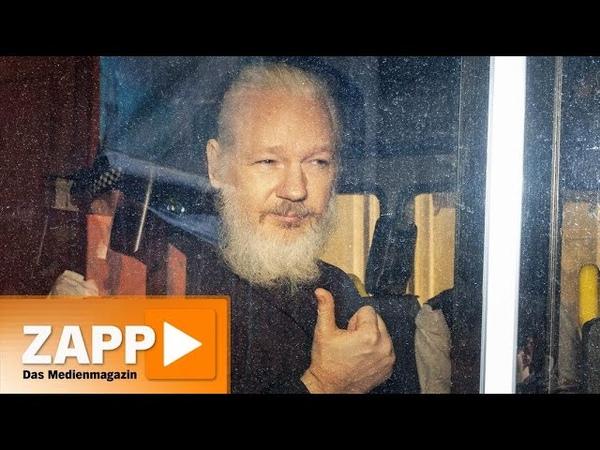 USA vs. Wikileaks: Angriff auf Pressefreiheit   ZAPP   NDR