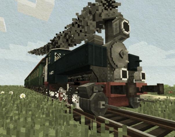 мод на майнкрафт 1.7.10 на поезда #10