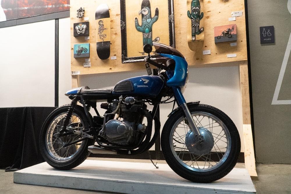 Фотографии с мотовыставки OMS 2020 (The One Motorcycle Show). Часть 4