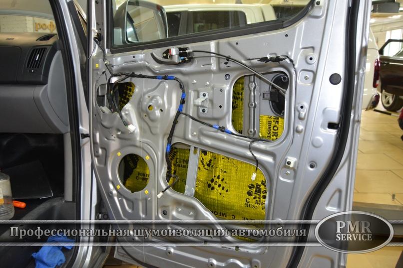 Шумоизоляция Hyundai Starex, изображение №9