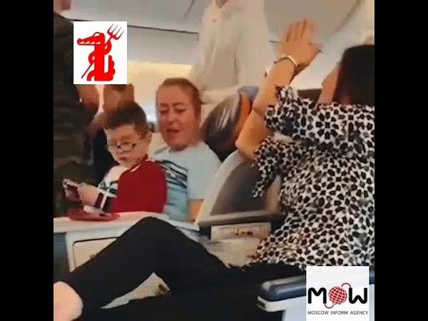 Я актриса А вы плебеи Лидия Вележева устроила скандал в самолете и была снята с рейса