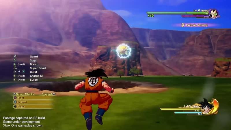 Dragon Ball Z Kakarot - Game Introduction - PS4_⁄XB1_⁄PC