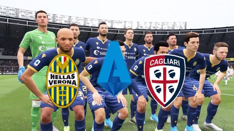 FIFA 20 | Italy Serie A,Hellas Verona VS Cagliari @Stadio MarcAntonio Bentegodi | Round 25