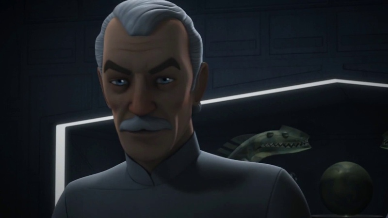 Star Wars Rebels Agent Kallus Meets With Thrawn and Yularren HD