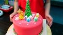 Новогодний торт / Christmas cake - Я - ТОРТодел!