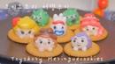 토이스토리 머랭쿠키 만들기♡ How to make Toy stoy Meringue cookies ♡ メレンゲクッキー